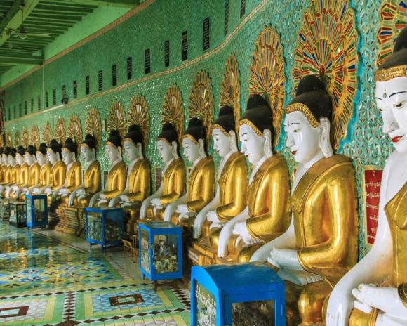 visa méditation Birmanie Myanmar